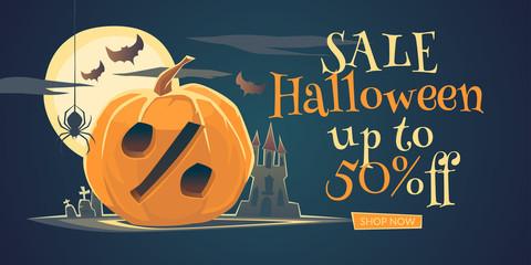 Original concept poster Halloween discount sale.