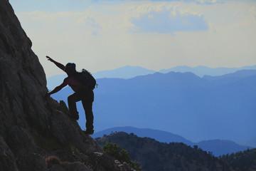 Azimli Dağcı & Zirvelere Tırmanmak