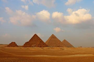 Great Pyramids on the Giza Plateau