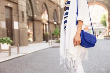 Fashion girl, outdoor