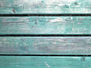 aged green painted grunge wood texture background