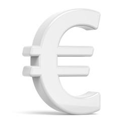 white euro sign