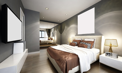Condo and townhouse bedroom design
