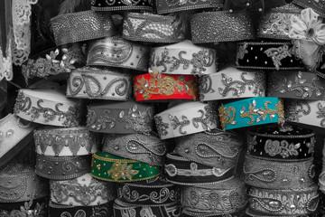 Gorros uzbecos