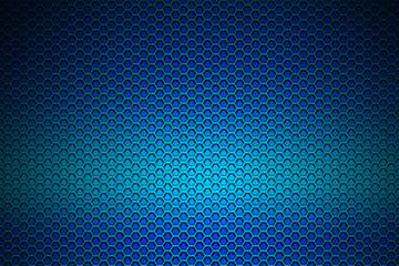 blue chrome metallic mesh. metal background and texture.