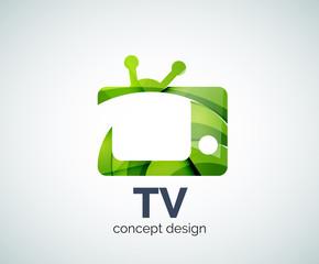 TV logo template