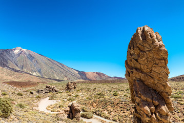 Beautiful peaks of Teide Volcano, Tenerife