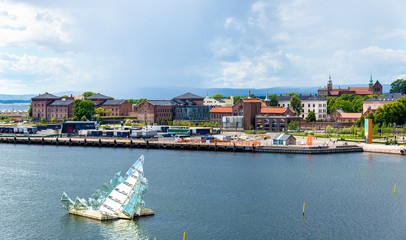 View of Oslo at the Inner Oslofjord