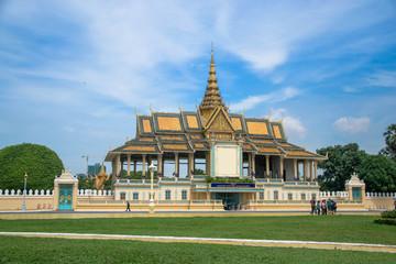 The royal palace , Cambodia