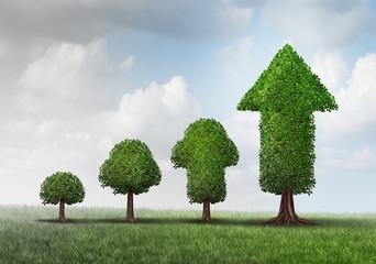 Obraz Concept Of Growing Success - fototapety do salonu