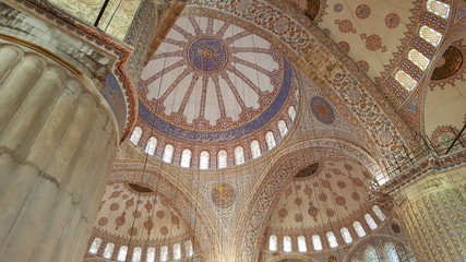 Sultan Ahmed Mosque indoor