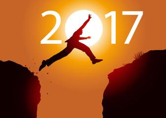 2017 - Challenge - Saut - Risque Fototapete