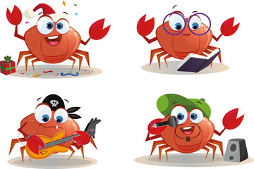 Crab Character Page