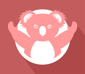 imaginative koala icon