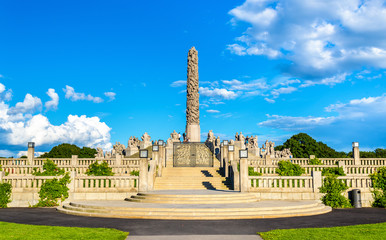 The Monolith sculpture in Frogner Park - Oslo