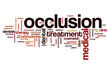 Occlusion word cloud
