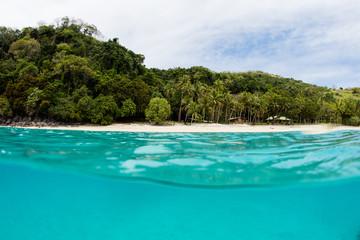 Beautiful Tropical Island Scenery