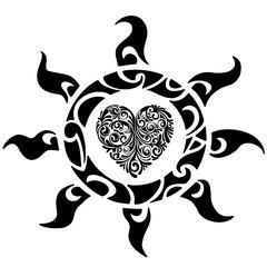 Полинезия солнце и сердце