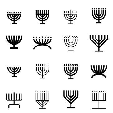 menorah pattern