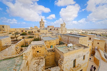 Top view from Citadel, Ir-Rabat, Malta