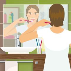 Brushing Teeth Design