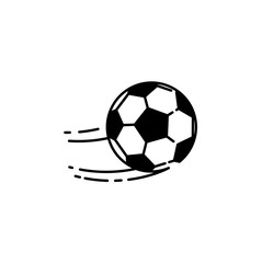 Football ball line icon