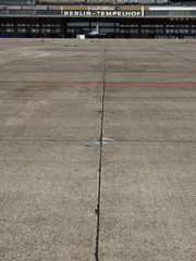 Berlin: Stillgelegter Flughafen Tempelhof