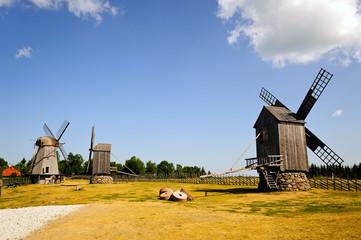 Windmühlen von Angla / Saaremaa