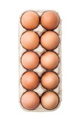 Egg Pack Isolated on White