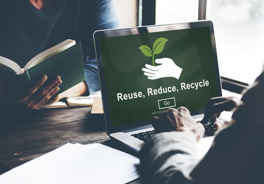 Reuse Reduce Recycle Sustainability Ecology Concept