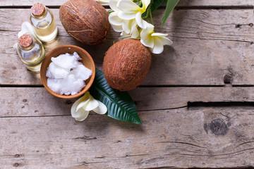 Natural organic spa products.
