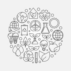 Eco concept illustration