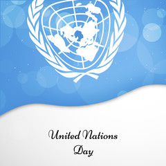 United Nations Day Background
