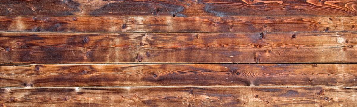 Old wooden planks background header