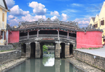 Japanese Bridge  (Cau Chua Pagoda) in Hoi An, Vietnam