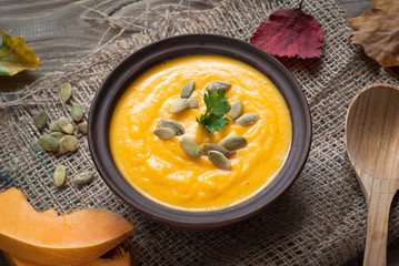 Traditional Pumpkin soup