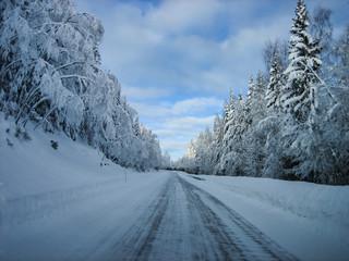 Sälen, Sverige - skiing