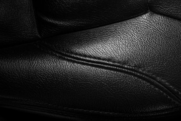 Luxury Black leather background