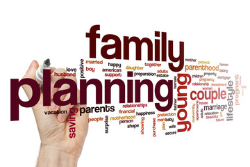 Family planning word cloud