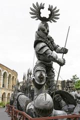 Statue all'Arena di Verona