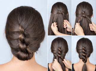 twisted hairstyle tutorial