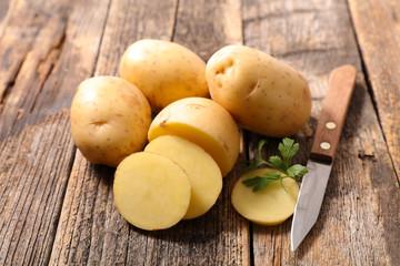 raw potato