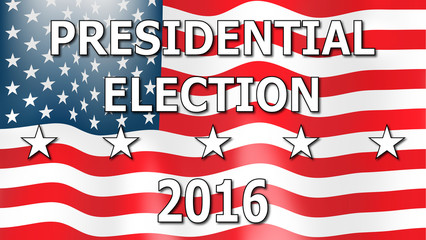 Presidential election 2016.