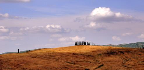 Malerische Landschaft des Chianti