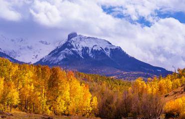 Foto auf Gartenposter Gebirge Autumn in Colorado