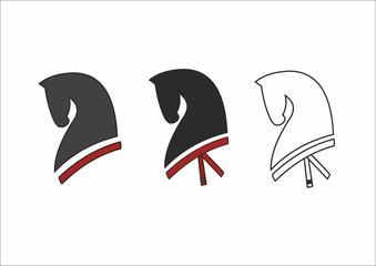 Horse head logotypes