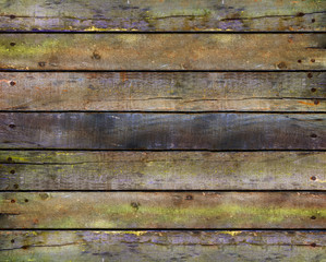 Old wood natural planks texture grunge background