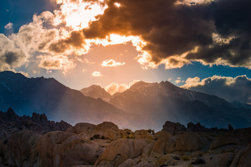 Poster Hill Alabama Hills California Landscape