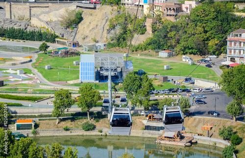 """Live Videos Cars Tbilisi Georgia: """"cable Car. Funicular Tbilisi, Georgia"""" Stock Photo And"""