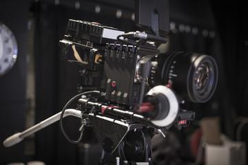Digital Cinema Camera On set.